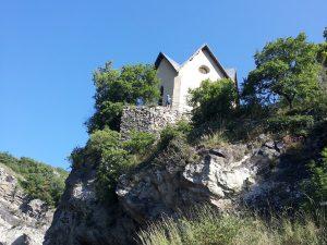 Het klooster van Montvernier