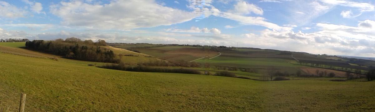 uitzicht vanaf fromberg