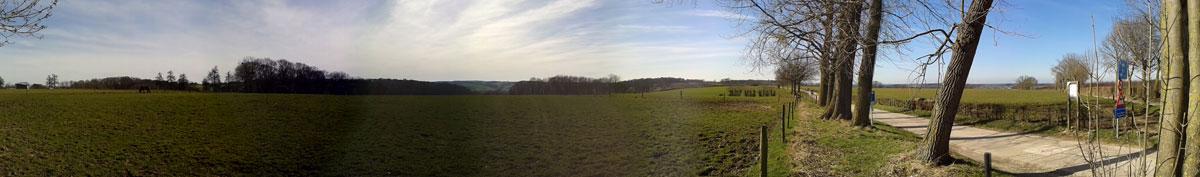 uitzicht vanuit Ulvend