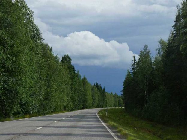 weg asfalt