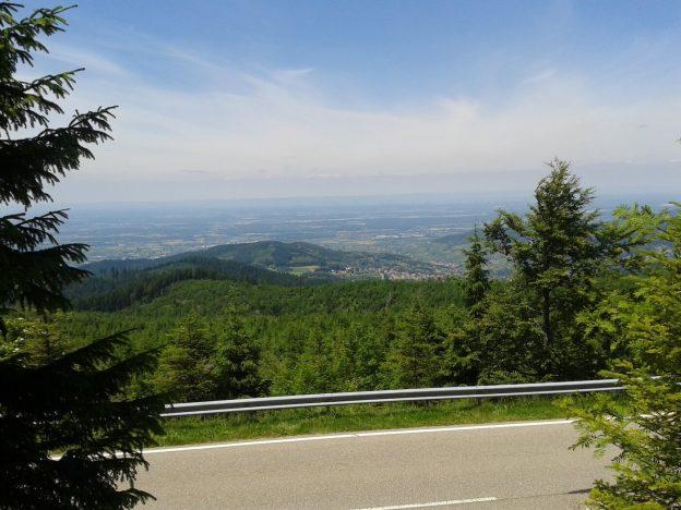 Zwarte Woud: uitzicht op de Rijnvallei