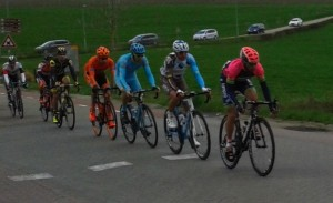 Peloton in de Amstel Gold Race