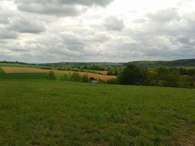 Uitzicht van de Fromberg