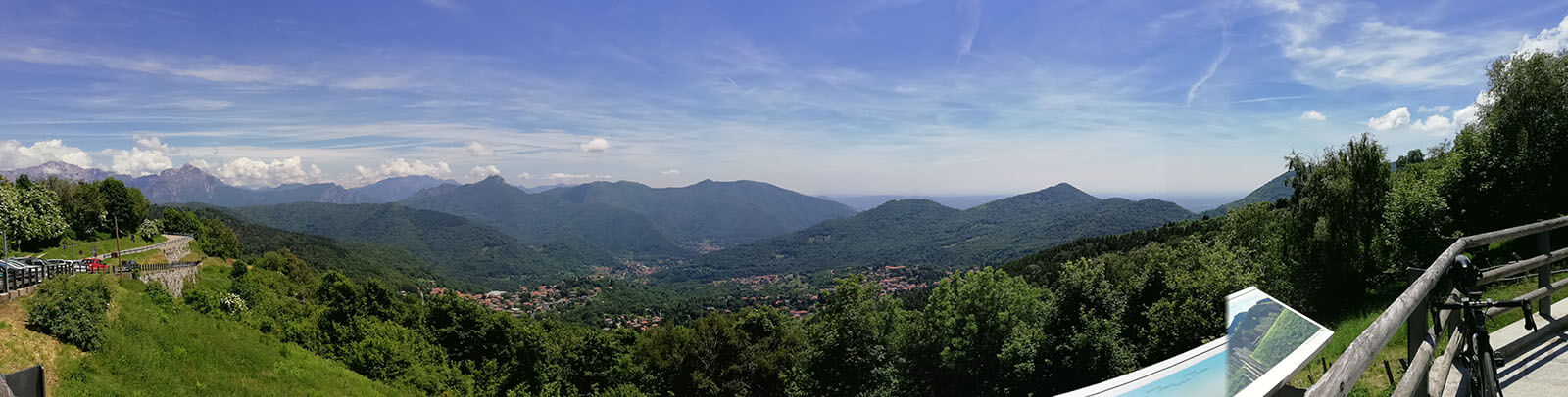 Uitzicht vanaf Colma di Sormano