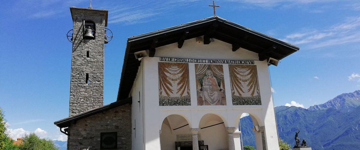 De kapel van madonna del Ghisallo